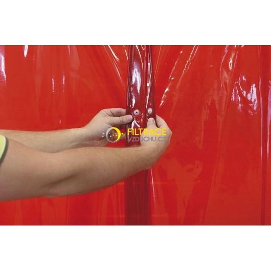 Ochranný svařovací závěs CEPRO Orange