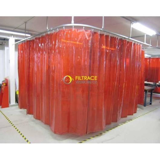 Ochranný svařovací závěs CEPRO Green-9
