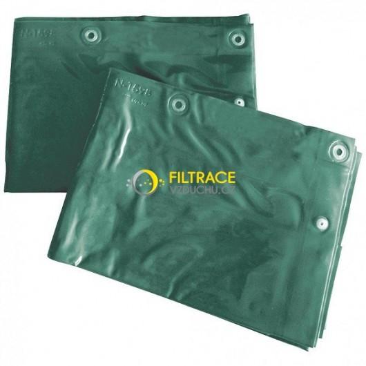 Ochranný svařovací závěs CEPRO Green-6 zelený